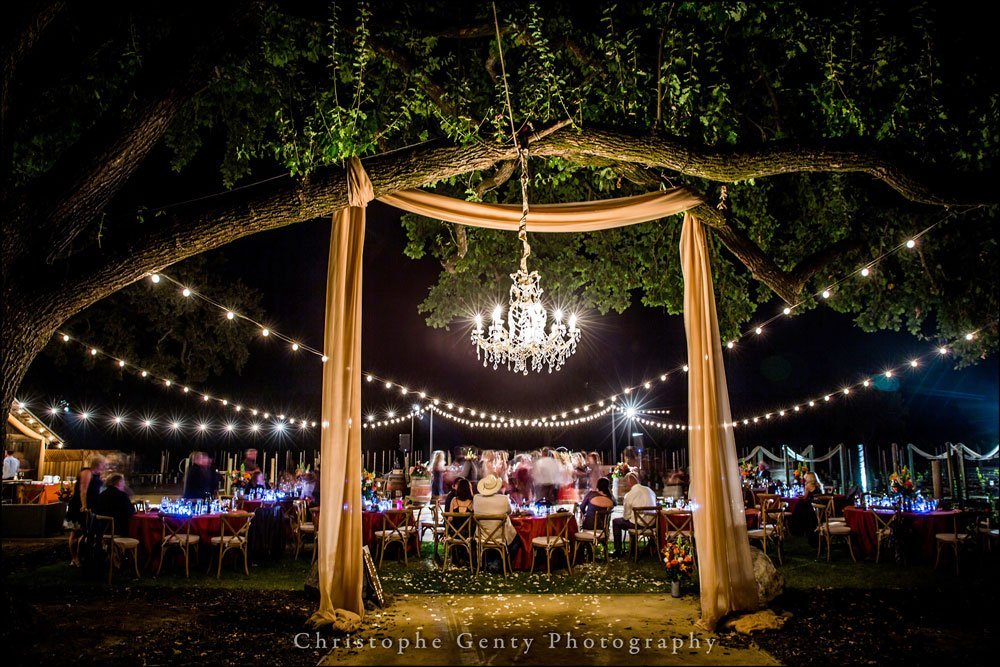Epic Chic Country Wedding Shindig under the stars and a 150-year old Oak Tree by Intimate Weddings Napa Valley